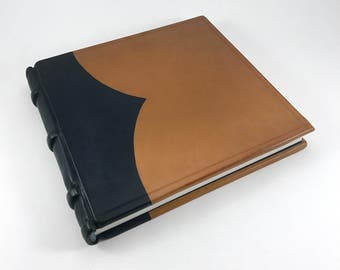 The Tannery Ledger, bookbinding, leather books, leather journal, leather bound, ledger, libro, journal