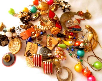 Vintage wearable and Junk jewelry LOT