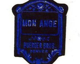 Vintage Buerger's Bros. Supply Co. Mon Ange Label, 1920s