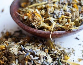 Muscle Relief Bath Tea - Organic -All Natural - Arnica, Eucalyptus, Peppermint, Lavender