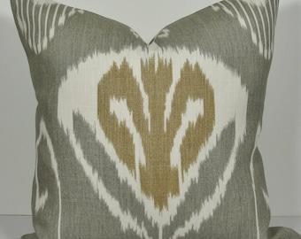 Custom listing for Anne     KRAVET  Ikat Decorative pillow covers