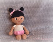 Crochet Baby Doll, Crochet Doll, Baby Doll, Stuffed Toy, MADE TO ORDER