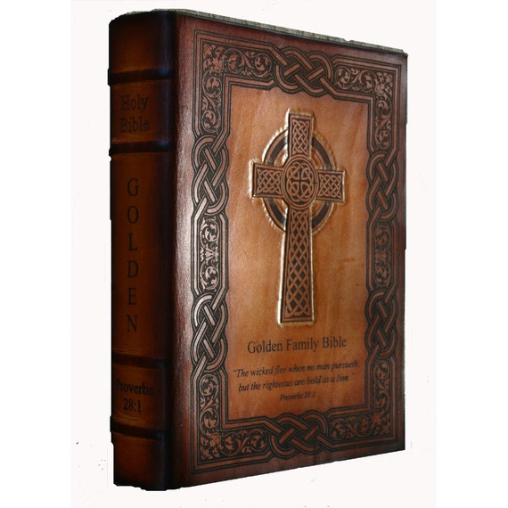 Celtic Cross NKJV Providence Family Bible