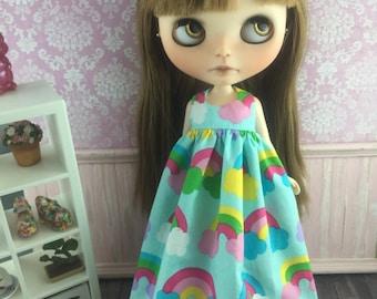 Blythe Angel Dress - Rainbows