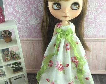 Blythe Angel Dress - Roses
