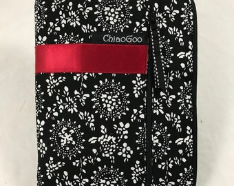 "ChiaoGoo - 5"" TWIST Interchangeable Needle Set Red Lace Small US 2-8 (2.75mm-5.00mm)"
