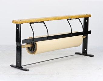 General Store Paper Roll Cutter, Paper Cutter, Industrial Paper Cutter, Vintage Paper Roll Cutter