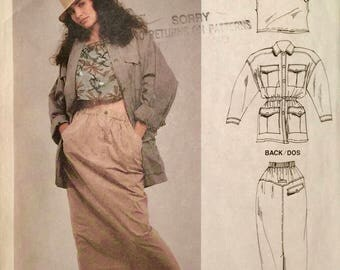 Super Vintage French Connection McCall's Sewing Pattern, Misses size 6-8