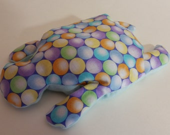 Pain Reliever Hot/ Cold Herbal Therapy Flax Seed filled Turtle Multi Polka Dots