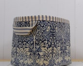 William Morris Brother Rabbit Print Oilcloth Storage Basket Bin m