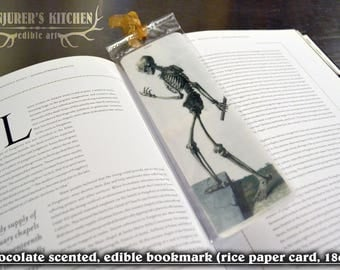 3x Scented and Edible Vintage Anatomical Bookmarks