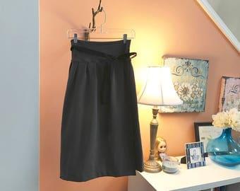 Hanbok Chima Skirt - organic soy french terry cotton