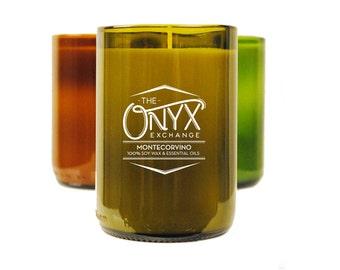 Montecorvino - Cinnamon & Cedarwood Soy Candle - Holiday Scented