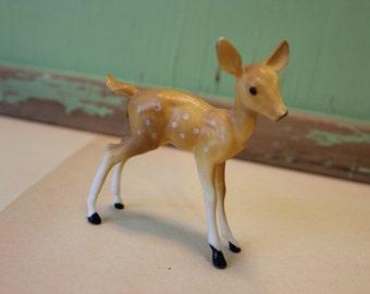 Vintage Plastic Deer, Fawn