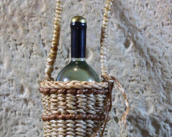 1:12th scale miniature hanging bottle holder