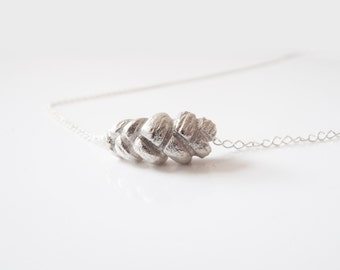 A Piece of Rapunzel - handmade sterling silver necklace