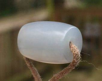Hand Carved Translucent Asian Jadeite Bead