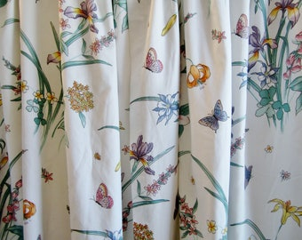 Botanical Curtains Etsy