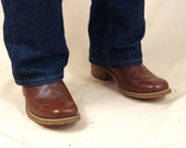Mens Frye Boots * Mens Campus Boots * Brown Campus Boots * Western Riding Boots * Mens Leather Boots * Mens Cowboy Boots * size 9 1/2 D