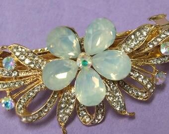 Wedding dress jewelry bridal hair pin comb barrette