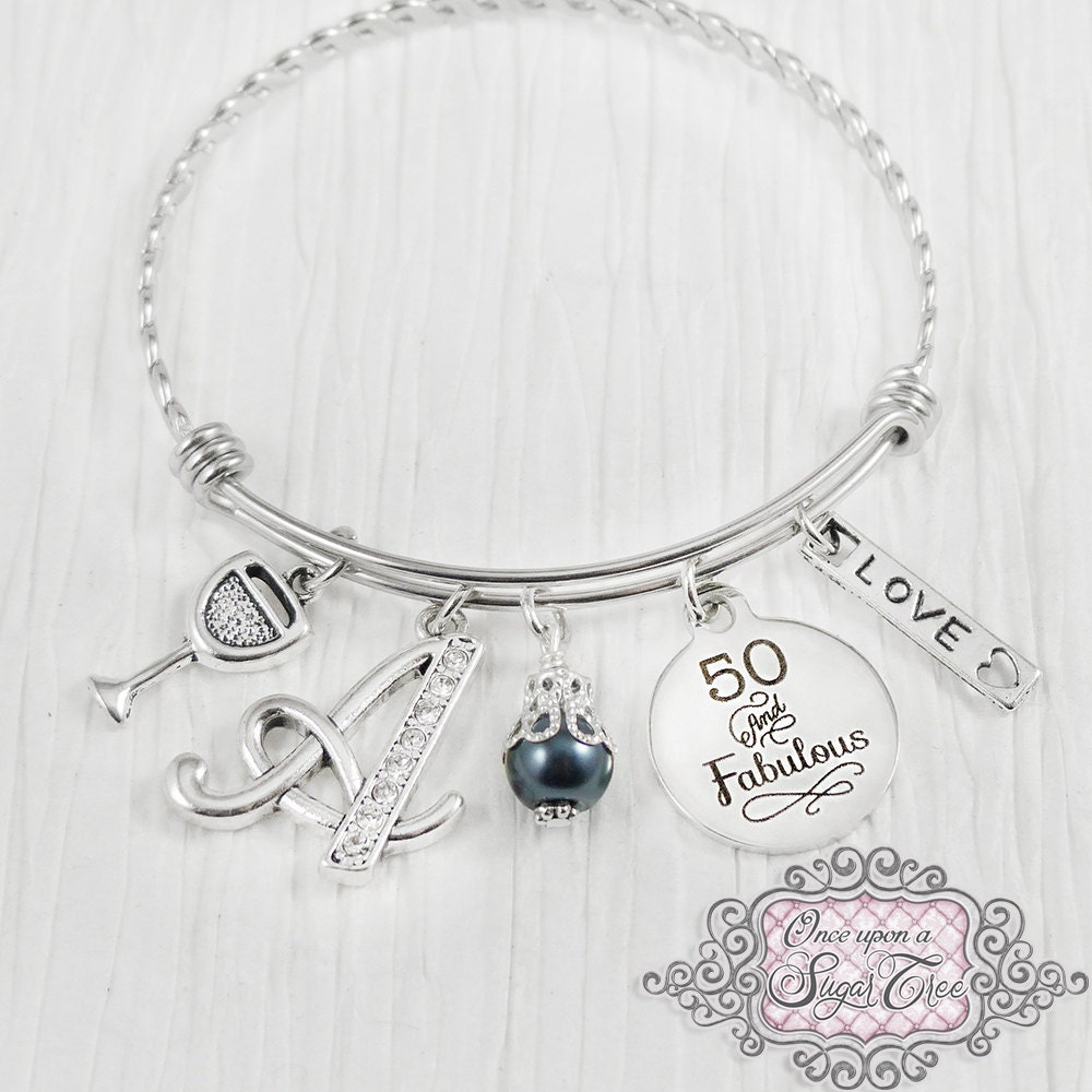 50th Birthday Gifts For Women Birthday Jewelry 50 And