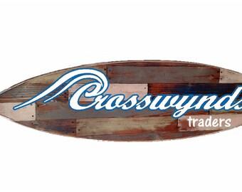 coastal headboard etsy