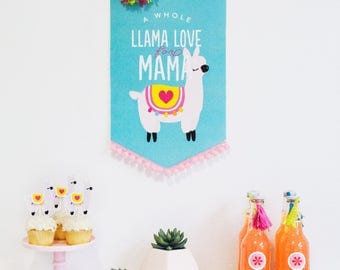Llama Love Printable Mother's Day Celebration Collection by Itsy Belle