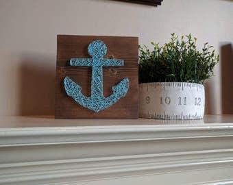 Ready to ship anchor string art