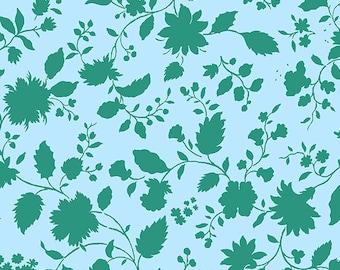 Twilight Vine - SKY - PER 25CM - Amy Butler - VIOLETTE - PWAB143 - 100% Cotton Quilt Fabric