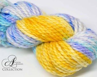 Forget Me Nots - SUPER Bulky Weight - Superwash Merino and Nylon 2-ply