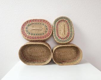 vintage nesting Baskets