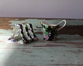 Royal Winton Grimwades Chintz Orient Tiny Creamer and Small Toast Rack Made in England