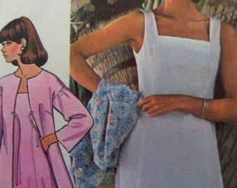 PRINCESS SEAM DRESS Pattern • McCall's 5090 • Miss 8-12 • Sundress • Square Neck Dress • Sewing Pattern • Vintage Patterns • WhiletheCatNaps