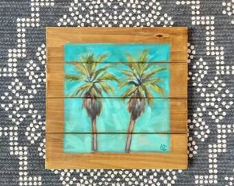 2 palms by Carin Vaughn