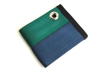 Vegan Chain Wallet -  Seat Belt Wallet with Grommet