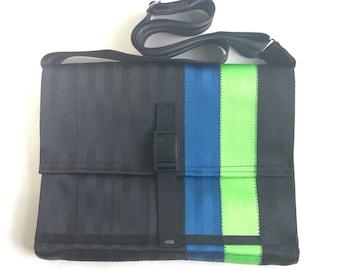 Seat Belt Messenger Bag with Magnetic Buckle (M-7)