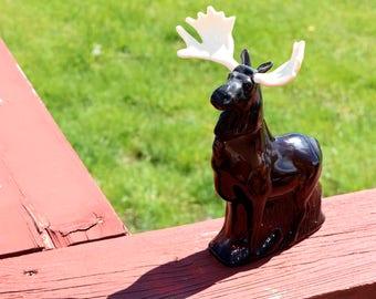 Avon Alaskan Moose Vintage Aftershave Bottle