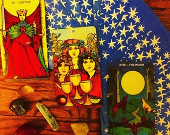 Custom Tarot, Oracle or Lenormand Reading -  Special Price - See Options Below