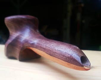 The Eagle Pipe,  Black walnut and Cherry