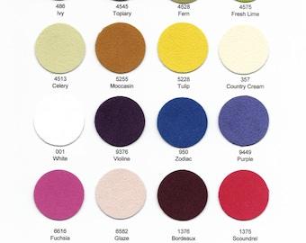 "Ultrasuede Soft Sampler 12""x 9"" - Choose from 36 colors."