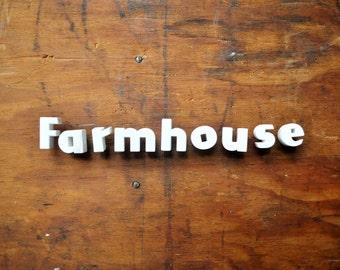 Farmhouse - Vintage Ceramic Push Pins