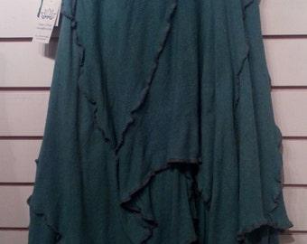 Aqua Green Woodland Skirt
