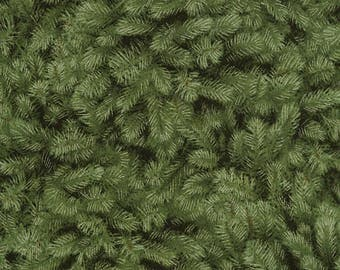 Fabric by the Yard - Packed Pine Needles-- from Timeless Treasures