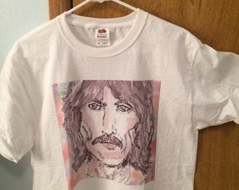 George Harrison Tee Shirt // George Harrison // Beatles