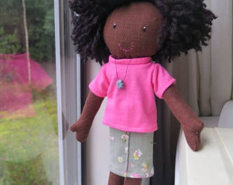 Beza, Ethiopian doll with Afro hair