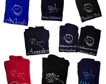 personalized equestrian fleece vest, horse rider, amazone, horse vest, equestrian vest, equestrian apparel, horses, horselady, horselover