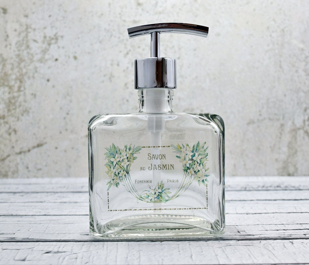 Hand soap dispensers unique bathroom decor liquid soap - Bathroom accessories soap dispenser ...
