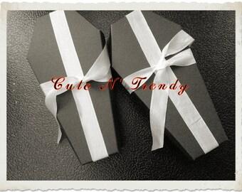 Coffin Wedding Gift Favors ( Unassembled) Set of 12