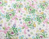 Reserved for Nancy! Briar Rose by Nancy J Smith and Lynda S. Milligan . Avlyn Fabric . Floral Bouquet Fabric . Quilting Fat Quarter . Easter