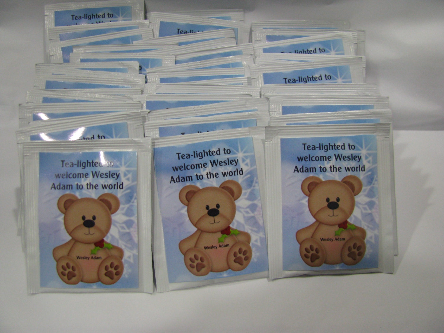 adorable baby shower favor tea bags baby shower favors